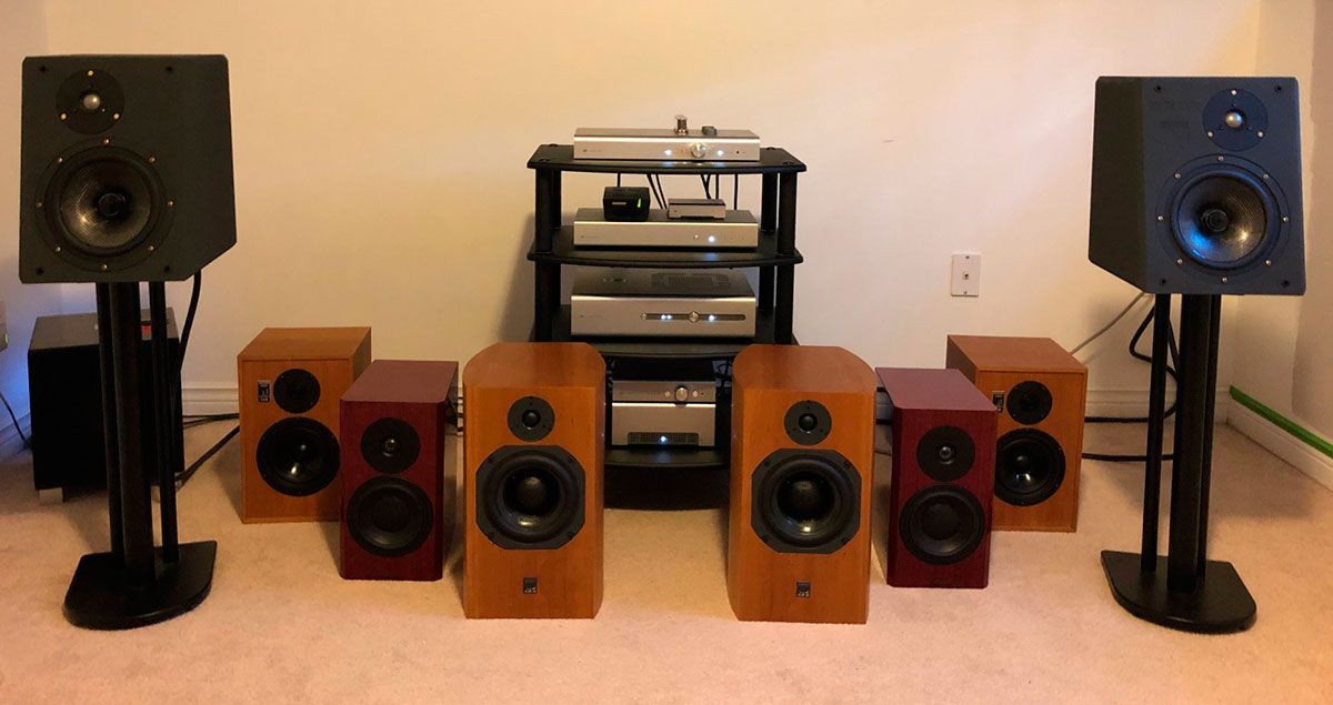 Standmounts vs Foorstanders speakers