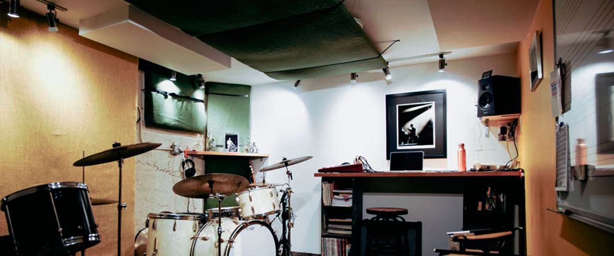 Soundproofing music room